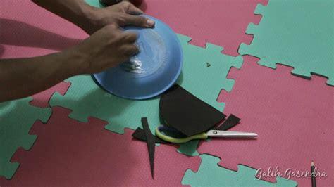 cara membuat jam dinding dari piring plastik cara membuat simbal pad dari piring plastik untuk drum