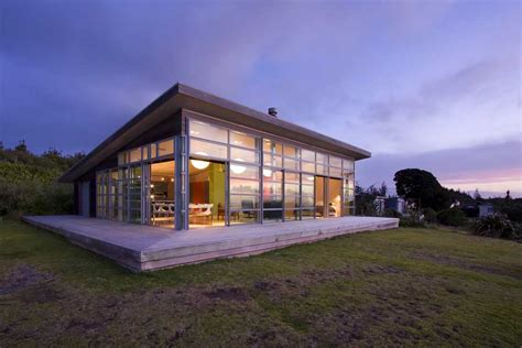waitara bach new zealand property home e architect