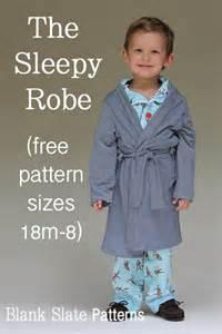 robe chambre enfant the sleepy robe free robe pattern melly sews