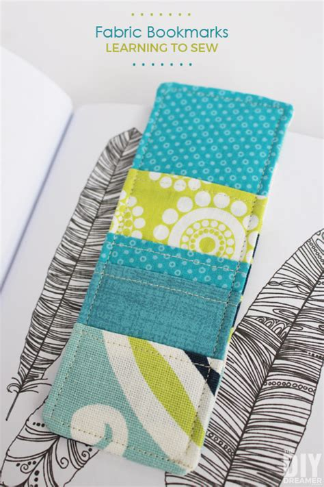 how to sew upholstery sewing fabric bookmarks learning to sew