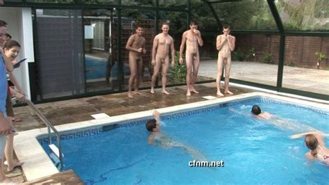 Naked Small Dick Pantsed Swimming Trunks