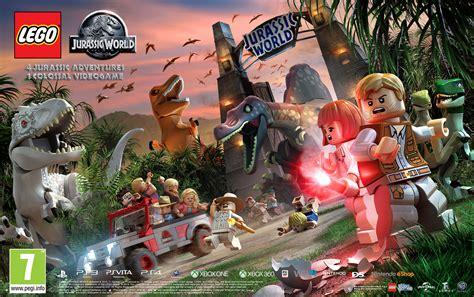Frame Lego Jurassic World lego jurassic world poster