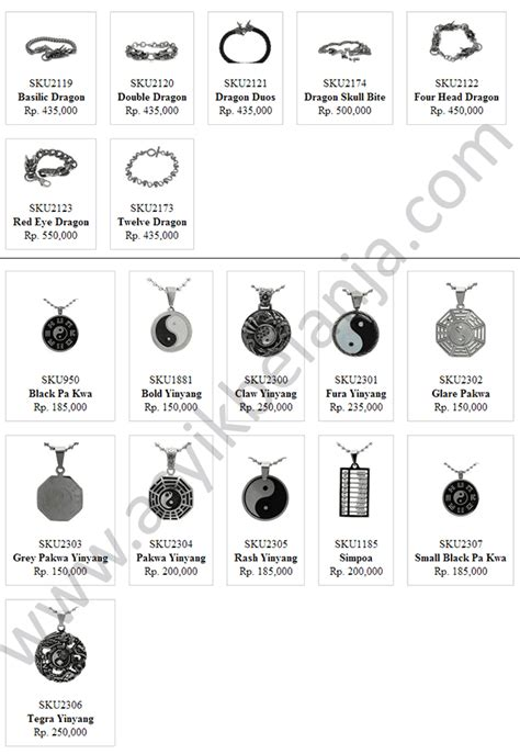 Gelang Titanium Original gelang naga steel titanium limited edition