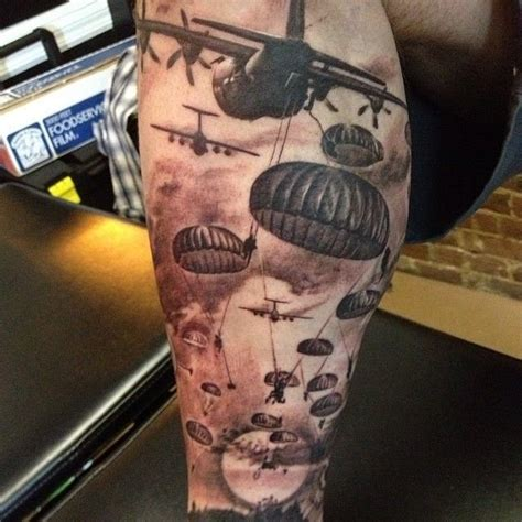 death from above tattoo airborne tattoos