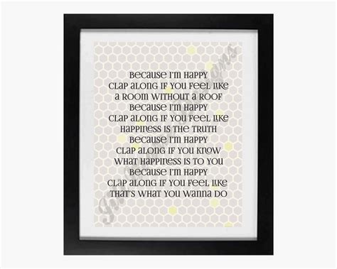 printable lyrics to happy by pharrell williams pharrell happy song lyrics quotes quotesgram