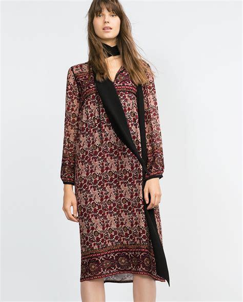 Dress Bohemian zara printed boho midi dress dresscodes