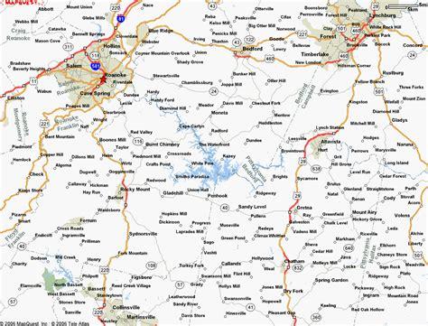 smith mountain lake map virginia outdoors smith mountain lake