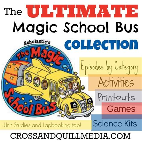 using magic school for science lots of links