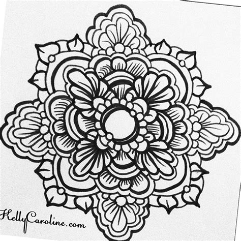 black and white henna tattoo designs drawing archives caroline caroline