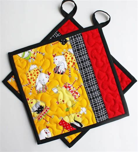Quilted Potholder by 25 Best Ideas About Quilted Potholders On