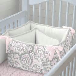 pink flower garden crib bedding carousel designs