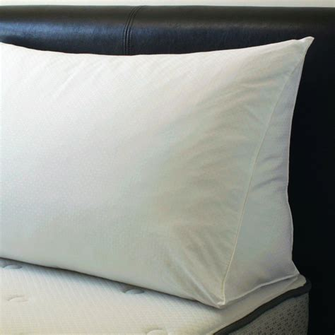 pillows for beds downlite reading wedge bed pillow cover