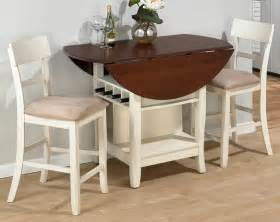 Small Dining Table With Leaf compact dining space arrangement with drop leaf dining