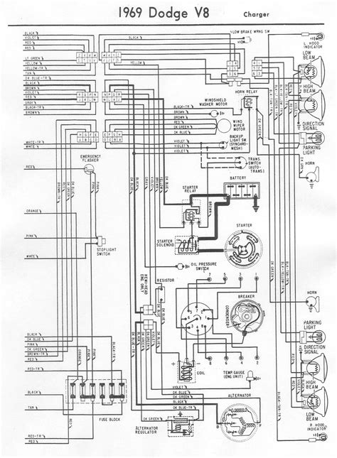 69 dodge dart wiring diagram 69 free engine image for