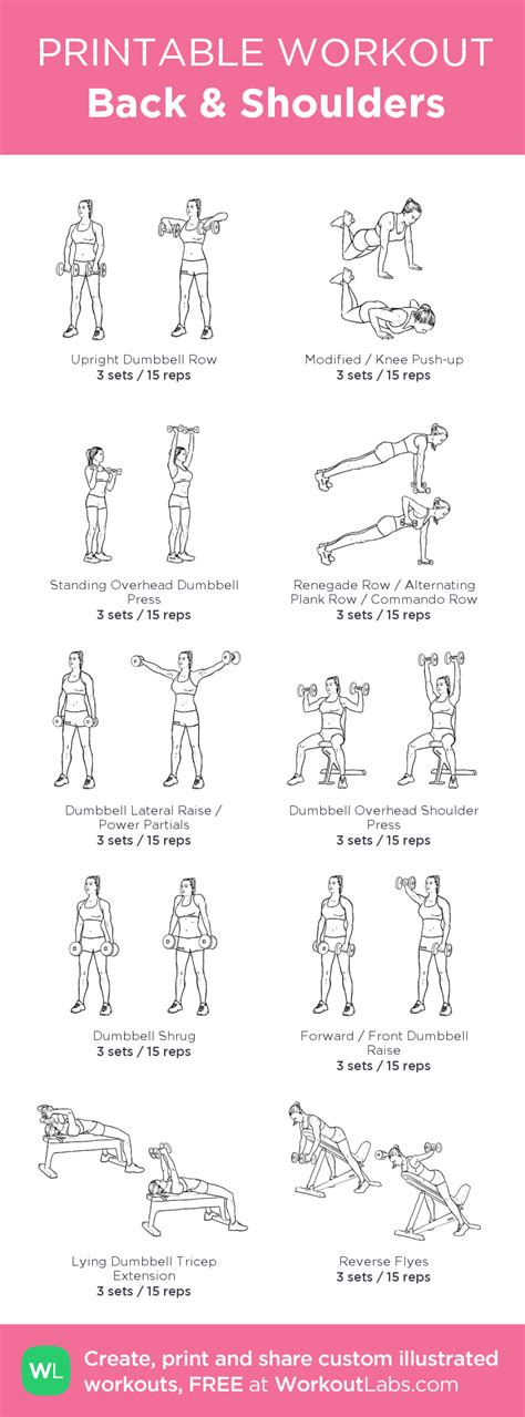 back shoulders my visual workout created at workoutlabs click through to customize and