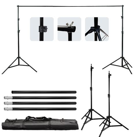 Ikea Svartasen Stand Laptop 2 Pilihan Warna bracket stand 30m untuk backdrop foto studio black jakartanotebook