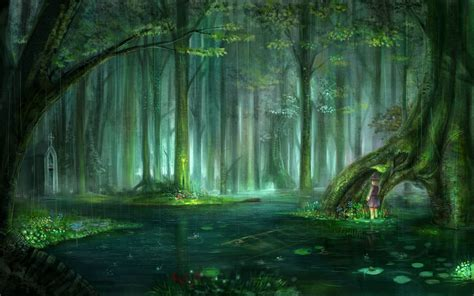 enchanted magical forests 0994355432 anime magical forest background www pixshark com images galleries with a bite