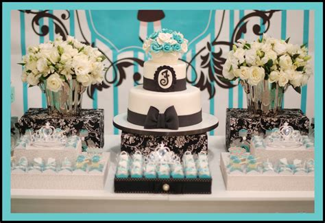 tiffany themed birthday party little big company the blog breakfast at tiffany s