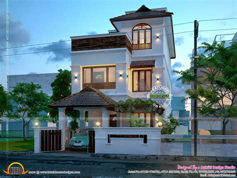 New Home Designs by 2014 Kerala Home Design And Floor Plans