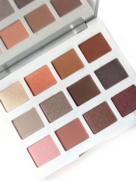 Bhcosmetics Marble Collection 12 Colour Warm Palette bh cosmetics marble collection warm palette review