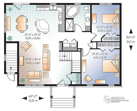 2 bedroom house plans with basement 2 bedroom house plans with walkout basement lovely