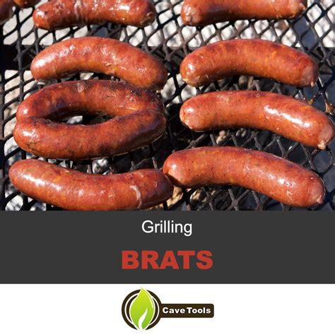 brats grill grilling brats boiling with beer grill master university