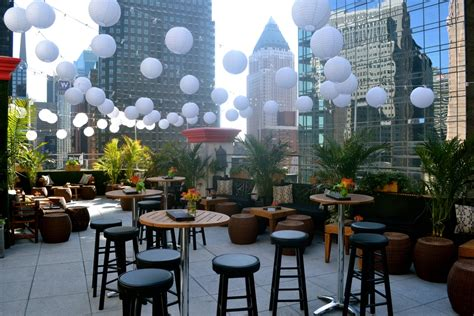 the roof top bar ava rooftop lounge at the dream hotel midtown nyc
