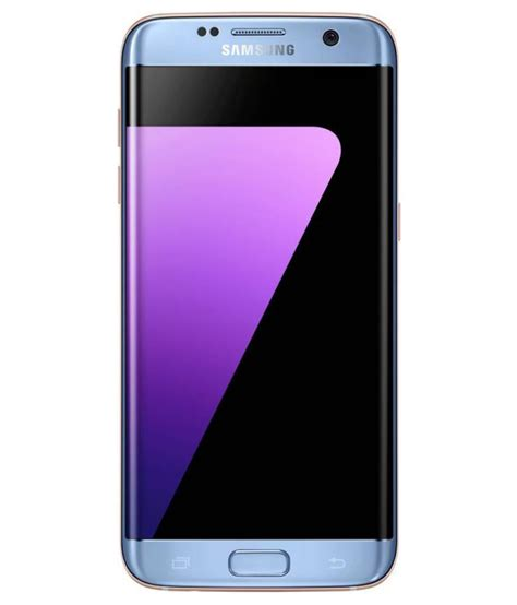 n samsung galaxy samsung galaxy s7 edge 32gb blue coral mobile phones at low prices snapdeal india