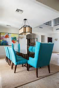 Turquoise Dining Room Chair Covers Striking Island Home Dining Room With Table With Driftwood