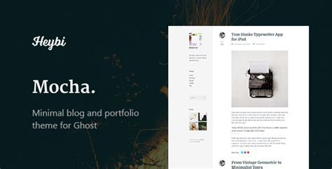 blog layout ghost 20 nice ghost themes for blog design freebies