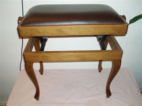 Adjustable Wooden Piano Stool by Adjustable Wooden Piano Stool Circa 20th Century Catawiki
