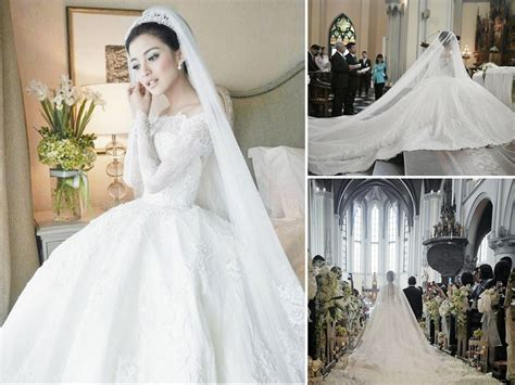 The Dreamy Wedding Gown of Chelsea Olivia   Weddingku.com