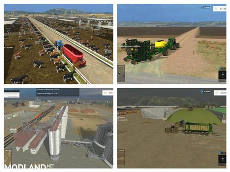 Ls California by California Central Valley Map V 3 0 Mod For Farming
