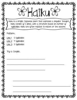 pattern drills in language teaching poetry printables patterns language arts and homeschool