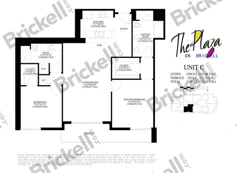Infinity At Brickell Floor Plans by 100 Carbonell Brickell Key Floor Plans Rise At