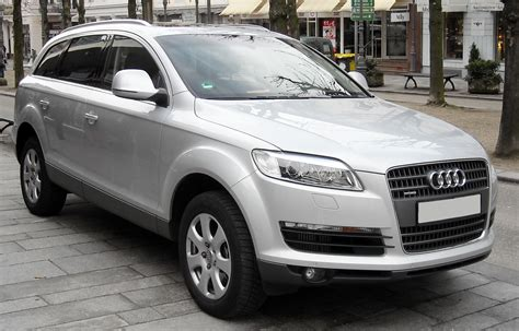 Audi Q7 Front by File Audi Q7 Front 20080120 Jpg Wikimedia Commons