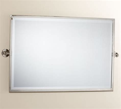 kensington pivot mirror large wide rectangle