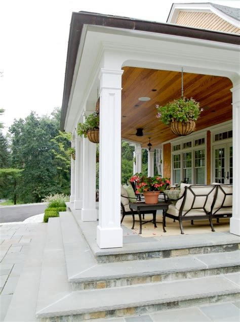 15 Classic Traditional Porch Designs For Ideas And Inspiration Patio Columns Design