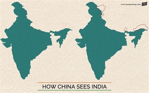 india s this is what india s map looks like according to pakistan