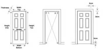 Height Of Interior Doors Door Dimensions Interior Door Interior Door Sizes Standard Interior Door Standard