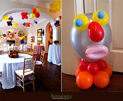 Birthday Decoration Ideas At Home With Balloons Birthday Decorations At Home Marceladick