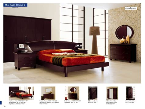 bedroom furniture modern bedrooms sal composition king 20 off miss italia composition 9 camelgroup italy