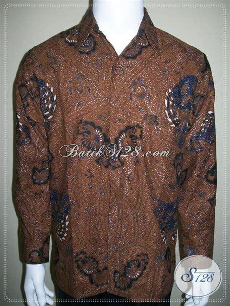 Kemeja Batik Klasik Lengan Panjang kemeja batik klasik furing lengan panjang motif jogja lp268bt m toko batik 2018