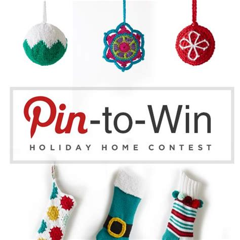 Win Our Giveaway by Enter Our Pin To Win Home Contest The Holidays