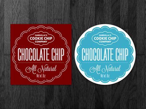 design label cookies gourmet cookie company needs a label designed label