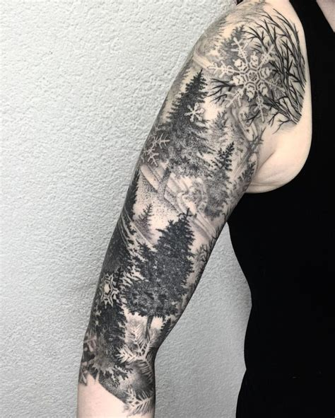 winter tattoo best 25 winter ideas on