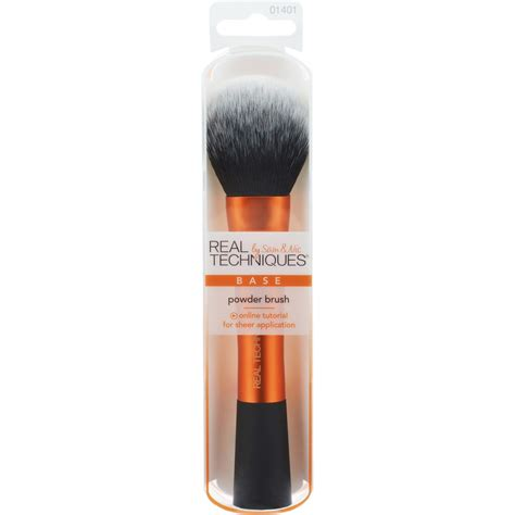 Powder And Brush real techniques by chapman base powder brush 1