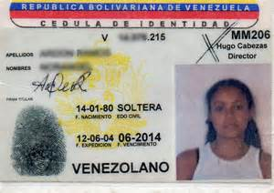 venezuelan id template file exlevenezuelanid jpg republished wiki 2