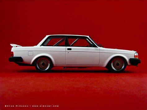 volvo  turbo plain body version fine scale models automobil fahrzeuge oldschool