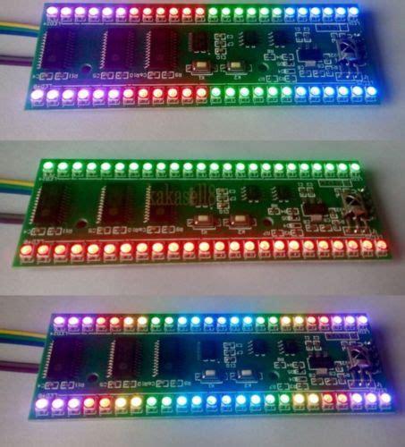 Led Vu Display aliexpress buy rgb mcu adjustable display pattern 24